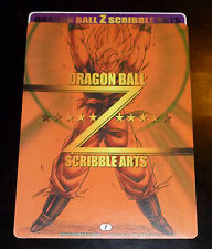 DRAGON BALL Z GT DBZ SCRIBBLE ARTS JUMBO CARD CARTE 1 STICKER JAPAN 2003 ** #PE1