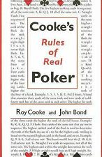 Cookes Rules of Real Poker