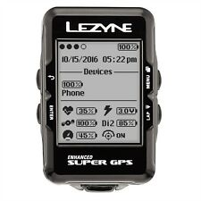 Lezyne Super Navigate GPS Bike Computer Loaded Bundle Heart Rate, Speed, Cadence