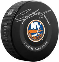 Ilya Sorokin New York Islanders Autographed 2019 Model Official Game Puck