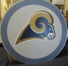 P B Teen St. Louis Rams Round Sign - N.F.L. Approval  18 1/2 Round Metal Sign