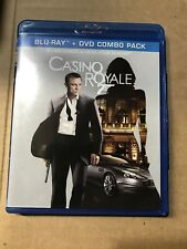Casino Royale Blu Ray & DVD Set (No Digital) Discs Are Brand New!