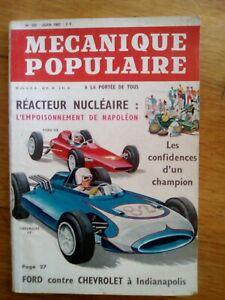 MECANIQUE POPULAIRE N°205 - 1963