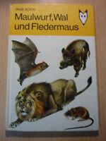 Koch,Inge: Maulwurf,Wal und Fledermaus /Mein kleines Lexikon,DDR Kinderbuch