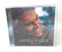 The Best Of Andrea Bocelli Vivere CD Sugar Music Almud Label Release