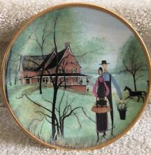 P BUCKLEY MOSS The Museum Anna Perenna 1995 Plate Amish FREE SHIPPING
