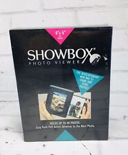 New Burnes Showbox Photo Viewer Holds 40 Photos Easy Push Pull Action Advances