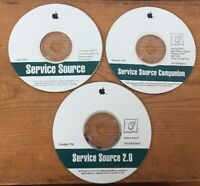 1993 1996 Macintosh Mac Computers Service Source 2.0 Companion CD Discs Software