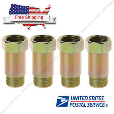 4PACK Universal M18x1.5 O2 Sensor Spacer Adapter Isolator Extender Bung Adapter