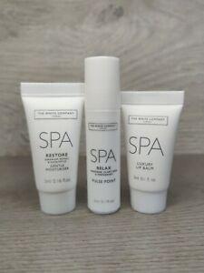 The White Company SPA Travel Set, Lip Balm, Pulse Point & Moisturiser 💖