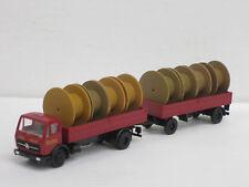 rimorchio Cavo tamburi 018549 1//87 Brekina MB 322 DP