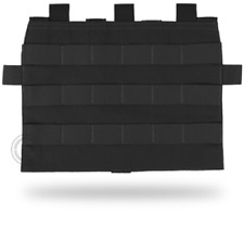 Crye Precision - AVS Detachable Flap Molle Panel - Black