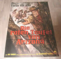 A1 Filmplakat  DIE ROTEN TEUFEL VON ARIZONA, STERLING HAYDEN,FOREST TUCKER