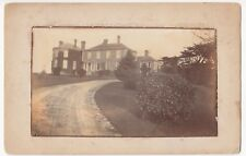 Unidentified Country House RP PPC Unposted, Location Unknown, c 1910's