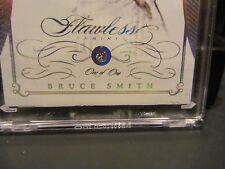 Panini Flawless Diamond Encased Base Card Bills Bruce Smith 1/1 One Of One  2015