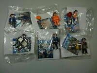 lot 4 : 6 PLAYMOBIL édition QUICK : Policier,gardien,voleur, pompier, 2 ouvriers
