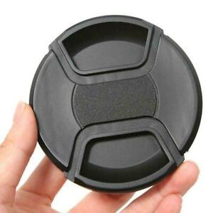 55mm Center Pinch Snap Front Lens Cap Cover for Canon AU Camera HOT SALE