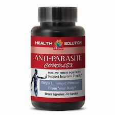 anti-bacterial action - ANTI-PARASITE COMPLEX - cleanse away toxins - 1 Bot, 60C
