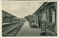 More details for whitland station - carmarthenshire railway postcard