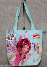 BORSA A SPALLA ORIGINALE MIA AND ME SHOPPER BAG BIMBA BAMBINA CELESTE ROSA A20