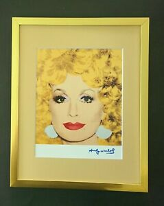 ANDY WARHOL GORGEOUS 1984 SIGNED DOLLY PARTON PRINT MATTED TO BE FRAMED 11X14
