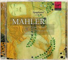 MAHLER- Symphonies No.1 & 9 Andrew Litton RPO/Libor Pesek RLPO 2-CD NM 1998