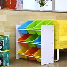 Spielzeugbox Spielzeugregal Kinderregal Bücherregal Ablage Kinder Aufbewahrung