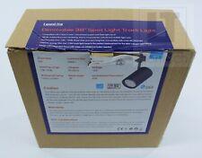 Leonlite 17.5W (85W Eqv.) Integrated CRI90+ LED Black Track Light Head Dimmable