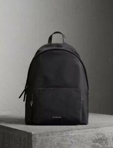 BURBERRY Abbeydale Nylon Backpack Black