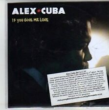 (CG990) Alex Cuba, If You Give Me Love - 2010 DJ CD