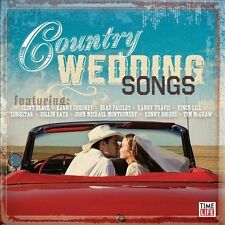 Country Wedding Songs, Various Artists, Good CD