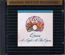 Queen a Night at the Opera MFSL Gold CD udcd 568 uii sans J-Card
