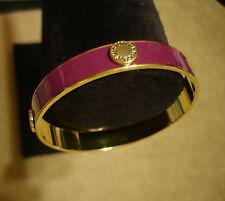 Essential VICTORIA'S SECRET Purple Gold ✦ VS Button Metal BANGLE BRACELET Love ✦