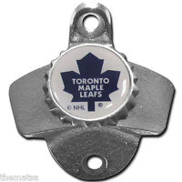 TORONTO MAPLE LEAFS NHL HOCKEY TEAM LOGO WALL MOUNTED USA MADE BOTTLE OPENER