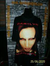 Vintage Marilyn Manson rock cotton jersey shirt trikot maillot '80s
