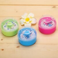 Baby Kid Soft Face Body Cosmetic Beauty Powder Puff Sponge Container Box Case