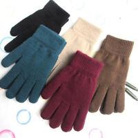 Knitted Gloves High Quality Male Thicken Warm Glove Winter Autumn Men Mitten NT
