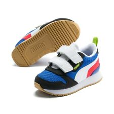 Puma R78 V Inf Unisex Baby Kinder Sneaker Low Top Turnschuhe 373618  Palace Blue