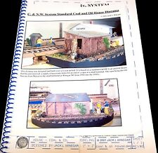 MODELING CNW COAL & OIL HOUSE SHED - BOOKLET (for large scale modelers)