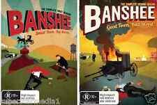 Banshee SEASON 1 & 2 - NEW DVD