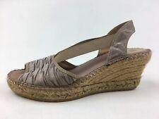 ab128900cd0e9 Vidorreta Women's Espadrille Wedge Sandals Size EUR 38, Beige 2016