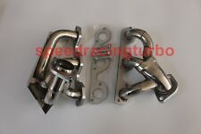 Exhaust Header For Jeep Wrangler JK 07-2011 3.8L V6 Stainless Manifold w/ Gaskst