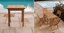 Tavolo quadrato allungabile da giardino 71x71cm mod. PITTEN