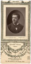 Lemercier, Paris, acteur, Frédéric-Alexandre Febvre (1833-1916) Vintage Print, v