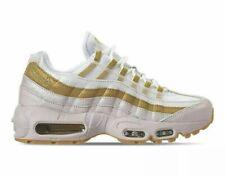 Nike Air Max 95 White Metallic Gold Sand AV8428 001 NEW Women's Size 8.5