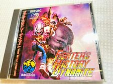 ★ SNK Neo Geo CD 「Fighter's History Dynamite」Data East Japan ★