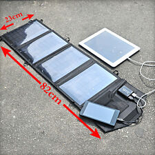 14W 5V 2500mA Folding Solar Panel Bag Battery USB Charger for Apple Samsung MP3