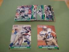1991 Pro Set Seattle Seahawks Team Set With Final Update 21 Cards