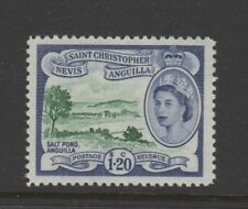 St Christopher Nevis Anguilla #132  part set VFNH SALT POND