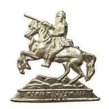 William of Orange Smaller Nickel-Plated Symbol For orange Order Collarette